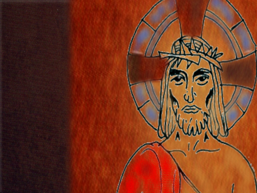 BROWN and Jesus large 2