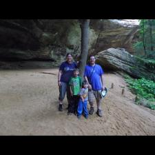 Family Hocking Hills